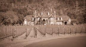 Ledson Vineyard & Winery near Kenwood CA Royalty Free Stock Photos