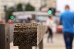 Ledstången på gatan Royaltyfria Bilder
