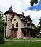 LeDuc House. This is a Summer picture of the William G. LeDuc House located in Hastings, Minnesota.  The house was designed by Andrew Jackson Downing, is an Royalty Free Stock Photo