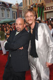 Lee Arenberg,Mackenzie Crook. Actors LEE ARENBERG (left) & MACKENZIE CROOK at the world premiere of their new movie Pirates of the Caribbean: Dead Man's Chest at Stock Image