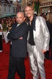 Lee Arenberg,Mackenzie Crook. Actors LEE ARENBERG (left) & MACKENZIE CROOK at the world premiere of their new movie Pirates of the Caribbean: Dead Man's Chest at Stock Photo