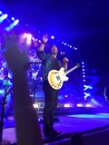 Lee Brice live in concert Vina Robles venue paso robles, california Royalty Free Stock Image