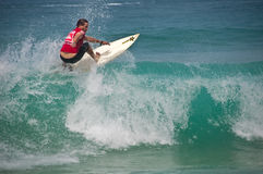 Lee Dowse quiksilver 2010 Royalty Free Stock Photos
