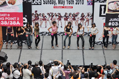 Lee FHM modela 2010 (Singapur) Fotos de archivo