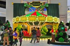 Lee gardens christmas decor, hong kong Royalty Free Stock Photo