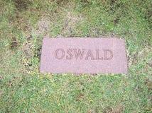 Lee Harvey Oswald Grave immagini stock libere da diritti
