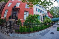 The Lee House on Washington DC, USA royalty free stock photos