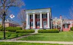 Lee-Jackson House in Washington en Lee University Royalty-vrije Stock Afbeeldingen