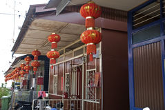 Lee Jetty, Georgetown, Penang, Malesia Fotografia Stock