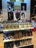Lee Kuan Yew Books Lizenzfreie Stockfotos