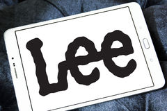 Lee-Logo Stockfoto