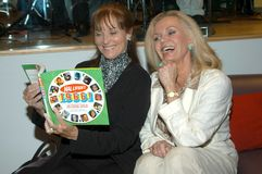 Lee Meriwether,Deanna Lund. Lee Meriwether and  Deanna Lund at Hal Lifson Signs Copies of his Book Hal Lifson's 1966!, Hustler Hollywood, West Hollywood, Calif Stock Photo