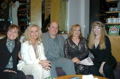 Lee Meriwether,Deanna Lund,Kitten Natividad. Lee Meriwether, Deanna Lund, Hal Lifson, Kitten Natividad and Lynn Carey at Hal Lifson Signs Copies of his Book Hal Royalty Free Stock Image