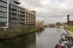 Lee Navigation, Hackney Wick Stock Images