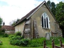 Lee Old Church, uma capela antiga da facilidade constru?da no s?culo XII foto de stock royalty free