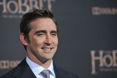 Lee Pace. LOS ANGELES, CA - DECEMBER 9, 2014: Lee Pace at the Los Angeles premiere of his movie The Hobbit: The Battle of the Five Armies at the Dolby Theatre Royalty Free Stock Image