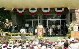 Lee Roy Selmon Hall der Ruhm-Induktions-Zeremonie Stockfotografie