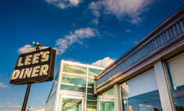 Lee's Diner, along Lincoln Highway near Thomasville, Pennsylvani Stock Photography