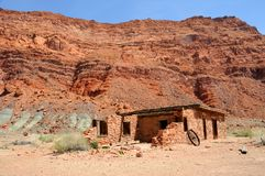 Lee's Fort along Colorado River Stock Photo