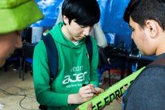Lee Shin Hyung royalty-vrije stock foto