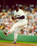 Lee Smith, Closer Boston Red Sox. Former Boston Red Sox relief pitcher Lee Smith Stock Photo