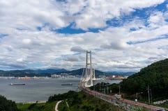 Lee-sunshin Brücke Lizenzfreies Stockbild