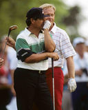 Lee Trevino. Golf legend Lee Trevino. (Image from color slide royalty free stock photography