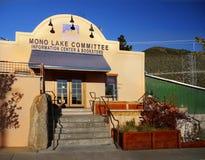 Lee Vining, Mono jezioro, centrum informacyjne obrazy royalty free