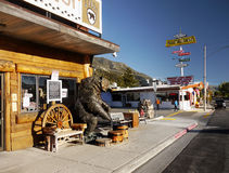 Lee Vining, sierra Nevada góry fotografia royalty free