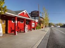 Lee Vining, Sierra Nevada Mountains Lizenzfreies Stockbild