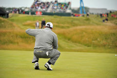 Lee Westwood at the 2011 open Royalty Free Stock Images