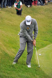 Lee Westwood at the 2011 open Royalty Free Stock Photos