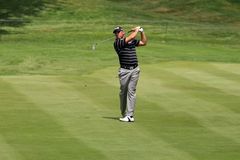 Lee Westwood on the course Stock Images