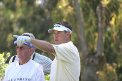 Lee Westwood, Golf Open de Andalusia 2007 Fotografia Stock