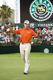 Lee Westwood. Winner of the Nedbank Golf Challenge 2011 Royalty Free Stock Photo