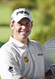 Lee Westwood - Winner - NGC2010 Royalty Free Stock Photo