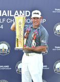 Lee Westwood wins Thailand Golf Championship 2014 Stock Image