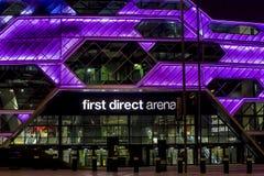 Leeds-Arena Lizenzfreie Stockbilder