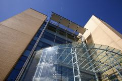 Leeds Beckett University City Campus stock photos