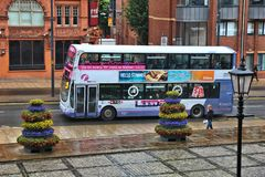Leeds bus Royalty Free Stock Images