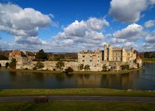 Leeds castle royalty free stock photography