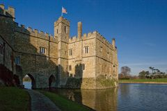 Leeds Castle stockbilder