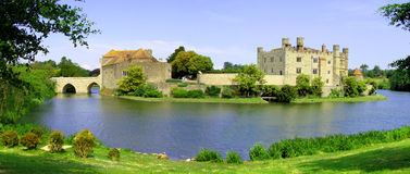 Leeds Castle royaltyfri fotografi