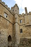 Leeds Castle. England's historic Leeds Castle during the day stock photography
