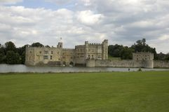 Leeds castle. In kent England Royalty Free Stock Images