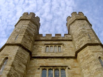 Leeds Castle. Front side view of Leeds Castle, Kent in England Stock Photos