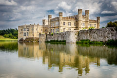 Leeds Castle across the Moat Royalty Free Stock Image