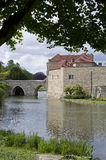 Leeds Castle - Bridge into Leeds Castle Stock Photography