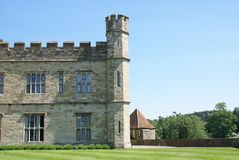 Leeds castle details in England Royalty Free Stock Image