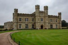 Leeds Castle em Kent, Inglaterra foto de stock